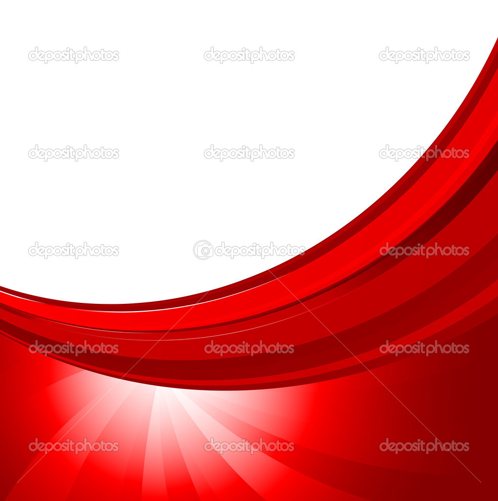 Abstract Background In Red Color Stock Vector C Denchik