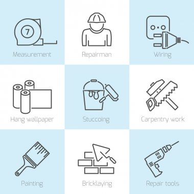Repair home icons