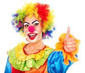 Photo Portrait of clown.