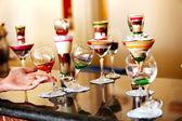 Fotografie Gruppe von alkoholischen Getränken