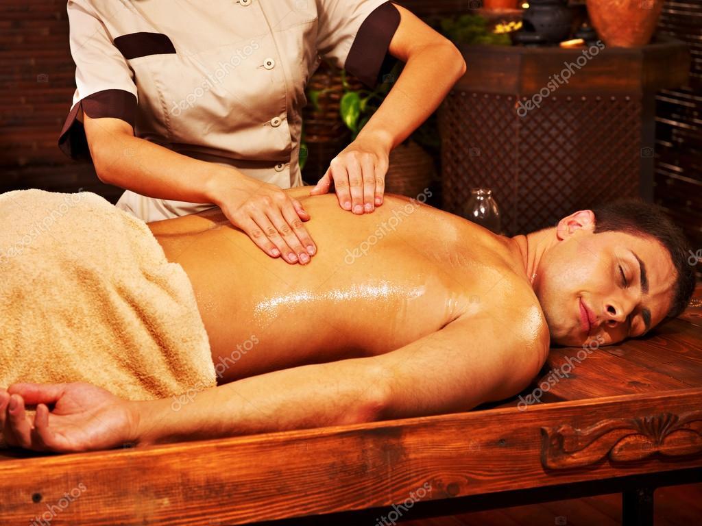 Naked ayurvedic massage