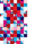 Fotografia astratto tricolore triangolo
