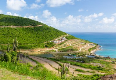 New construction on St Martin Sint Maarten