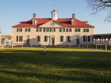 George Washington house Mount Vernon