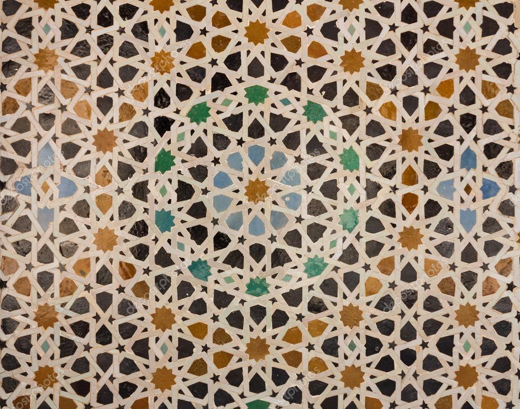 Modello di arabo piastrelle o mosaico u2014 foto stock © steveheap #31370813