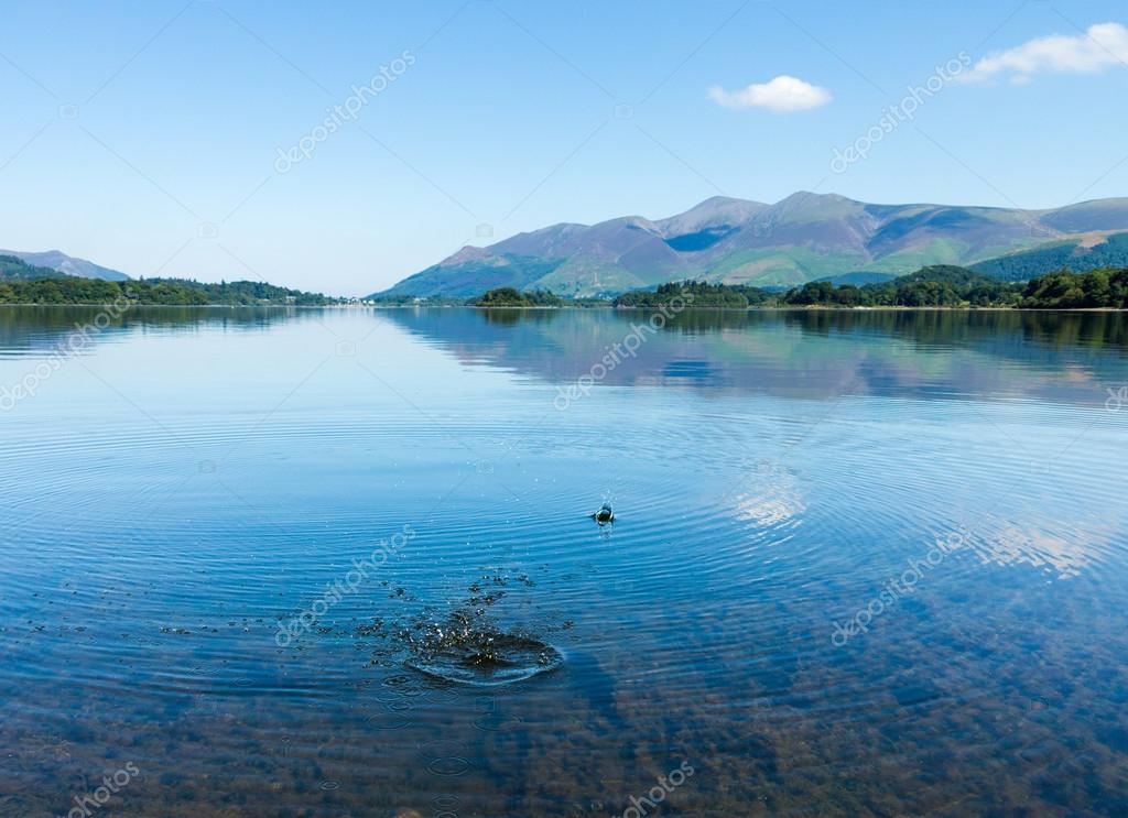 Derwentwater Lake District calm water