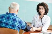 Test lékař krevní tlak