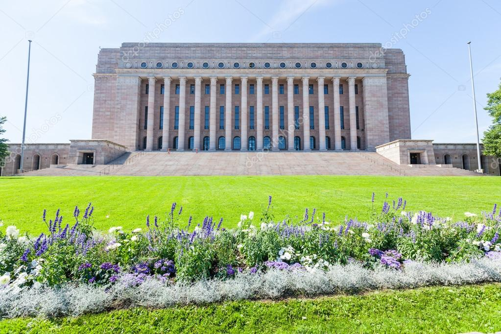 Finnish parliament house in helsinki stock photo for Parlamento live