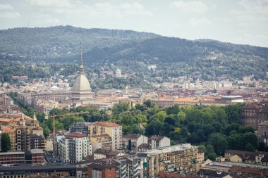 Turin, Italy, Aerial View