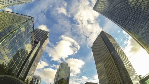 Financial District in London, Time Lapse