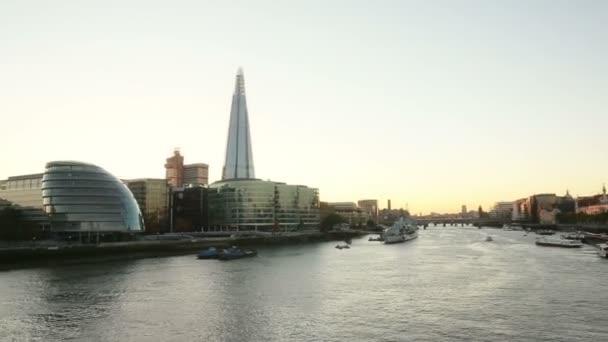 panoramatický pohled Londýn město