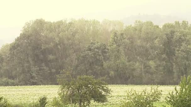 esik az eső, a vidéken
