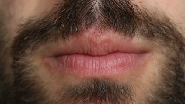 Talking male mouth