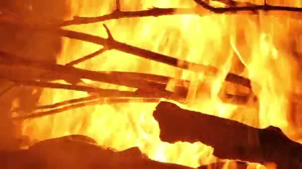 hořící plamen ohně
