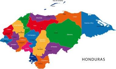 Honduras map