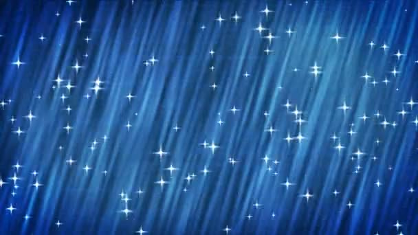 csillag-kék háttér