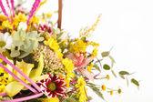 Fotografie Nice flowers in the basket