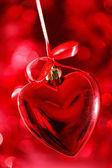 Červené srdce