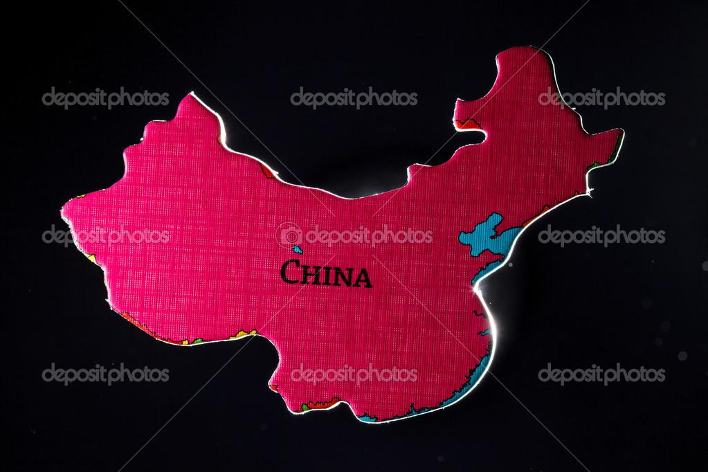 China Map Puzzle.Map Puzzle Of China Stock Photo C Shebeko 42163039