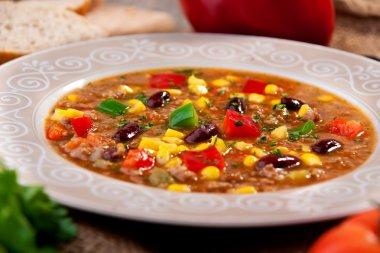 Vegetables soup