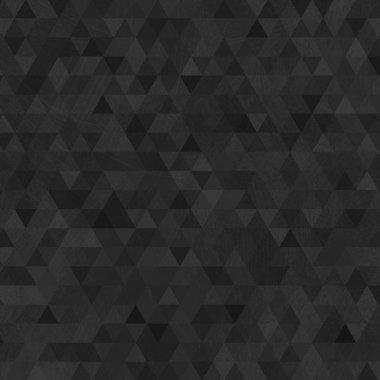 """Картина, постер, плакат, фотообои """"Черный гранж треугольников абстрактный фон"""", артикул 25317727"""