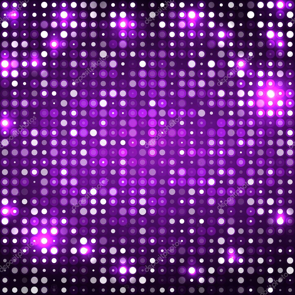 Purple abstract background with circles dark
