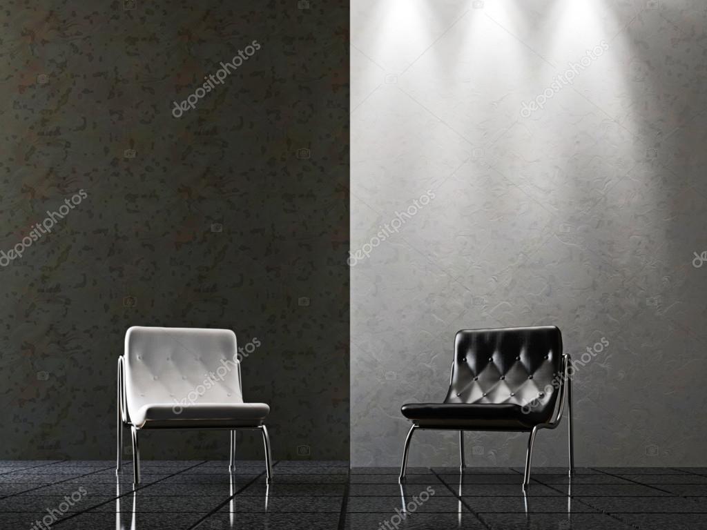 woonkamer met stoelen — Stockfoto © Ciklamen #16271643