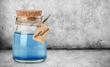 blue magic potion