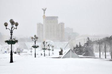 Kiev in the winter