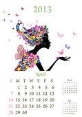 Mode Mädchen pro Kalenderjahr 2013 april