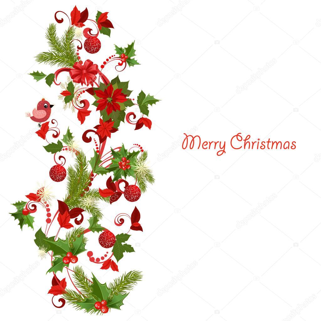Decorazioni natalizie vettoriali stock oksana 17877703 - Decorazioni natalizie ...