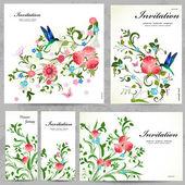 sada Prohlednice květinové