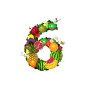 Number of fruit 6