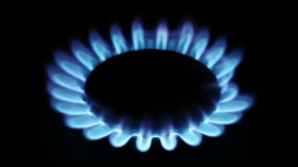 Erdgas-Entzündung im Ofenbrenner