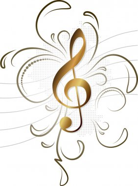 Music note for your design
