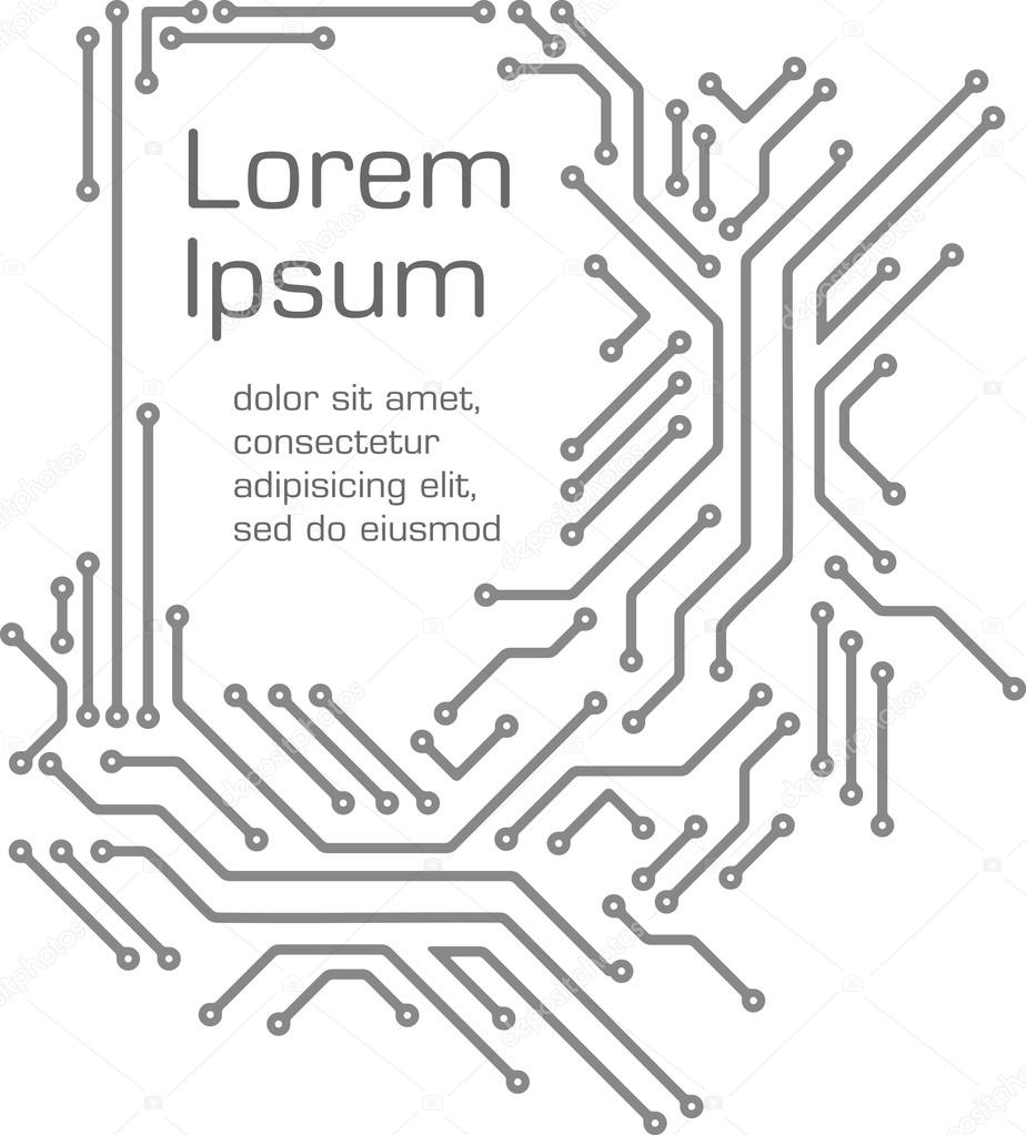 Circuit Board Design Coloring Pages