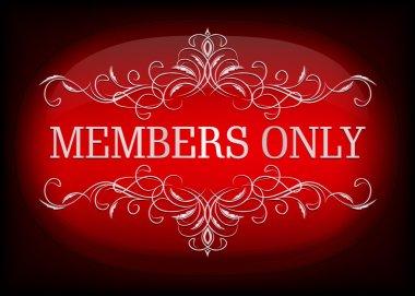 VIP design. Members only.