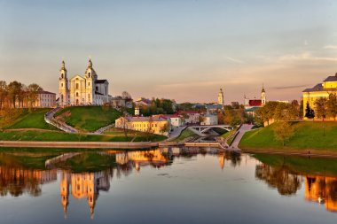 City Vitebsk in Belarus