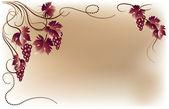 Fotografie Vine grapes ornament
