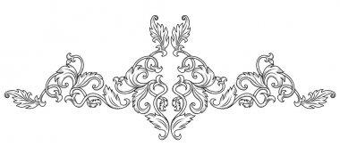 Symmetrical decorative ornament
