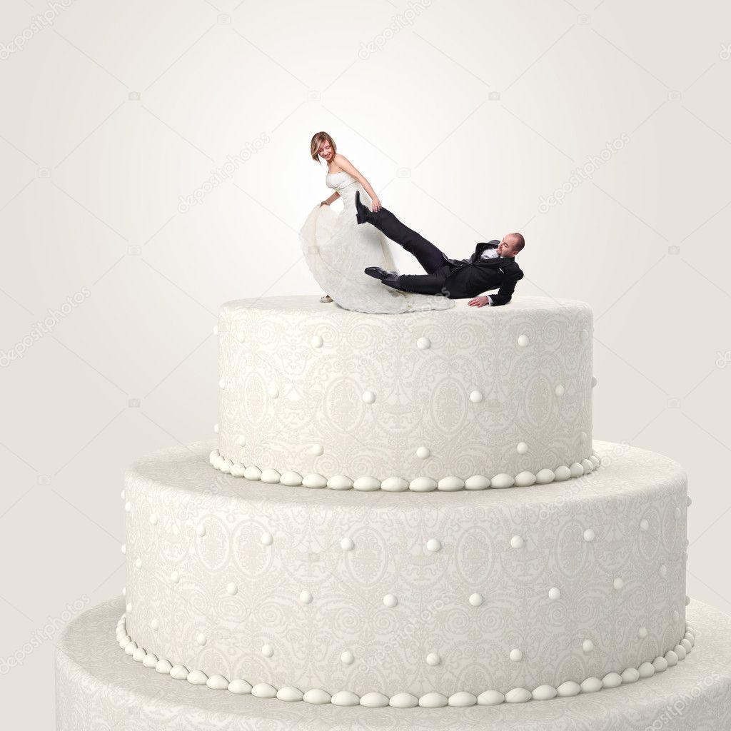 Lustige Cake Topper Stockfoto C Jukai5 19167639