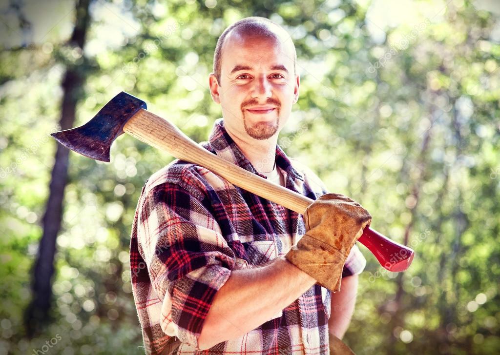 lumberjack portrait