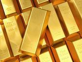 zlatých ingotů