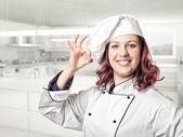 žena kuchař