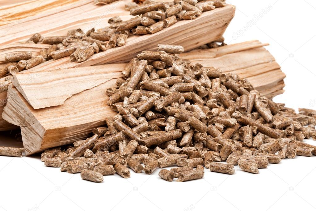 Pellets de madera foto de stock jukai5 48164385 for Foto pellet