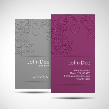 Business Card monochrome