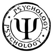 Fotografie Psychology stamp