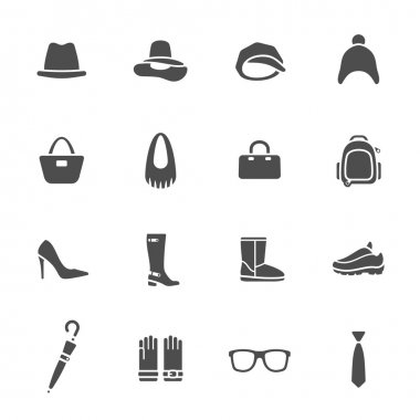 Accessories icons