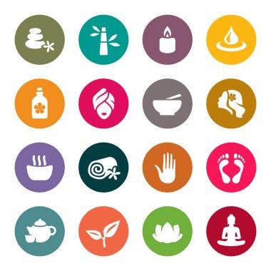 Spa icon set