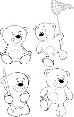 A set of bears.
